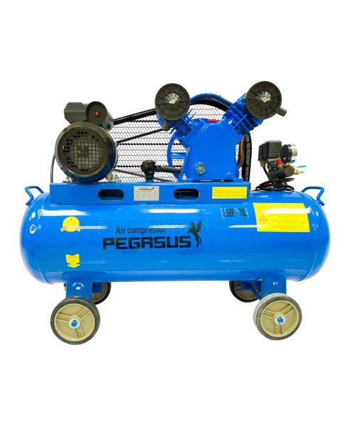 Máy nén khí dây đai Pegasus TM-V-0.12/8-70L